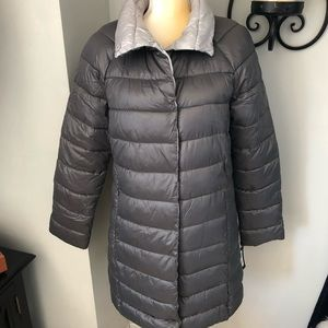 KENNETH COLE QUILTED FUNNEL COLLAR COAT XS XL NWT